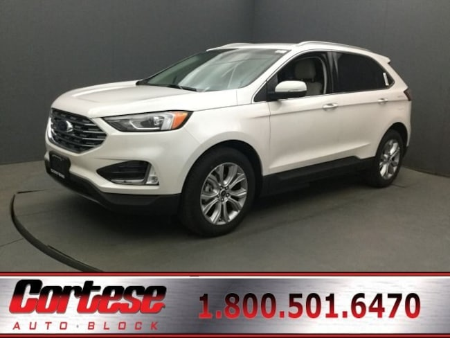 New 2019 Ford Edge Titanium Crossover For Sale/Lease  in Rochester, NY