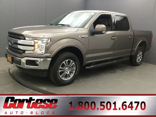 2018 Ford F-150 Lariat Crew Cab Short Bed Truck 1FTEW1E52JFD54860