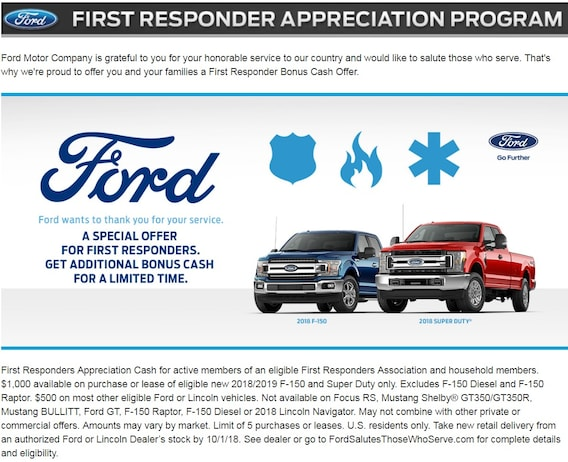 Ford First Responder >> First Responder Cortese Ford