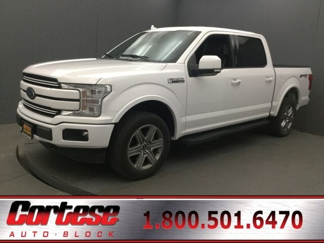 2018 Ford F-150 Lariat Crew Cab Short Bed Truck 1FTEW1E5XJFC20193