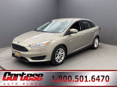 Used 2016 Ford Focus SE Sedan 1FADP3F2XGL285022 for sale in Rochester at Cortese Ford
