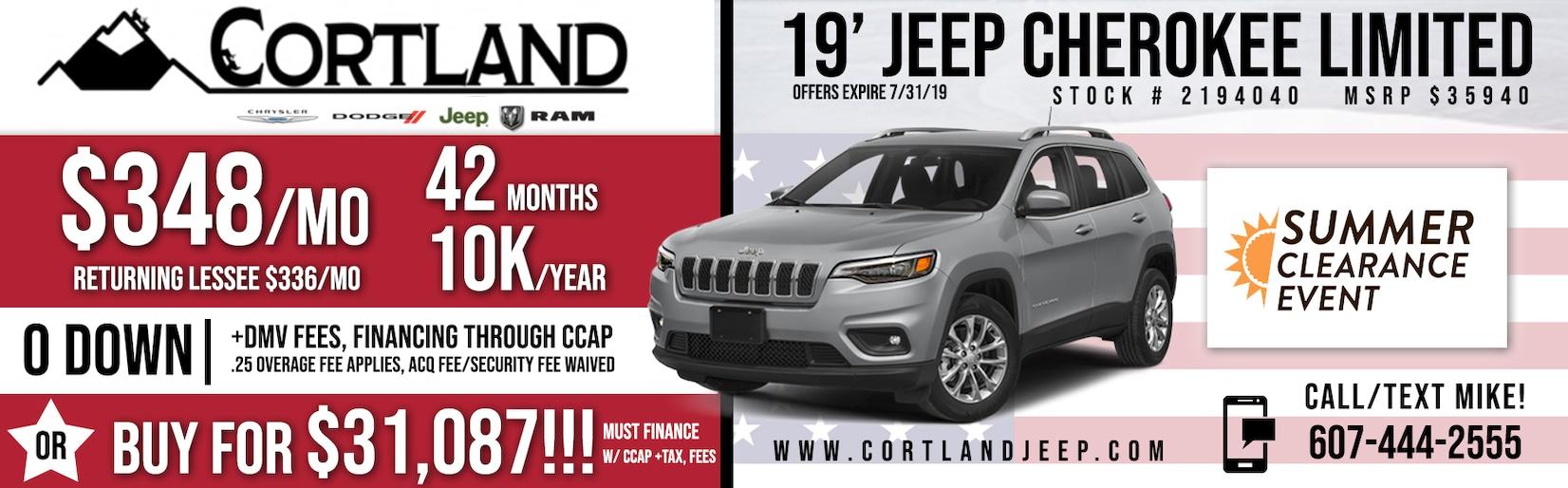 Cortland Chrysler Dodge Jeep Ram in Cortland, NY
