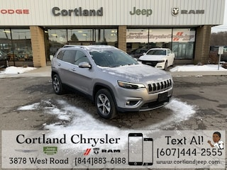 New 2019 Jeep Cherokee LIMITED 4X4 Sport Utility 2191450 for sale in Cortland, NY