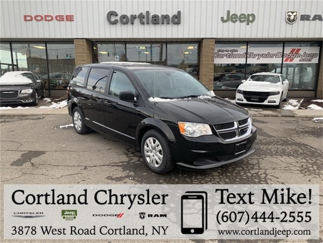 New 2019 Dodge Grand Caravan SE Passenger Van Cortland, NY