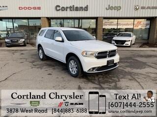New 2019 Dodge Durango SXT AWD Sport Utility 2192170 for sale in Cortland, NY