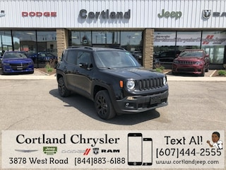 New 2018 Jeep Renegade ALTITUDE 4X4 Sport Utility for sale in Cortland, NY