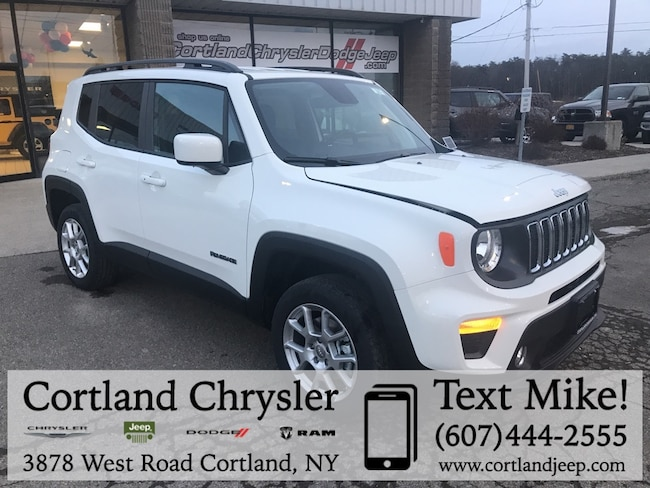 New 2019 Jeep Renegade LATITUDE 4X4 Sport Utility Cortland, NY