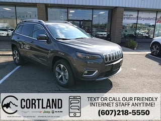 New 2020 Jeep Cherokee LIMITED 4X4 Sport Utility for sale in Cortland, NY