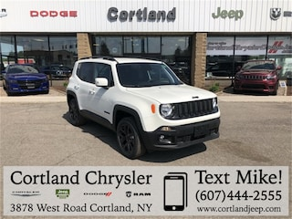 New 2018 Jeep Renegade ALTITUDE 4X4 Sport Utility 2183040 for sale in Cortland, NY