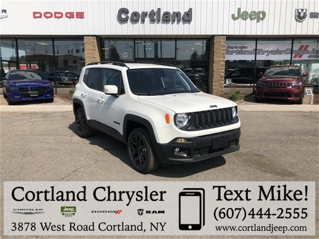 New 2018 Jeep Renegade ALTITUDE 4X4 Sport Utility Cortland, NY