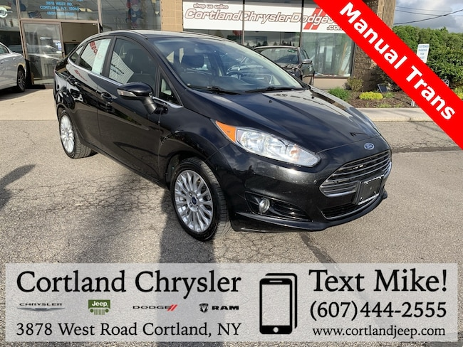 Used 2014 Ford Fiesta Titanium Sedan for sale in Cortland, NY