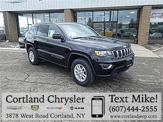 New 2019 Jeep Grand Cherokee LAREDO E 4X4 Sport Utility 2192370 for sale in Cortland, NY