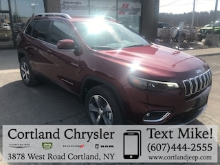 New 2019 Jeep Cherokee LIMITED 4X4 Sport Utility 2193350 for sale in Cortland, NY