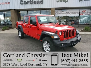 New 2020 Jeep Gladiator SPORT S 4X4 Crew Cab for sale in Cortland, NY