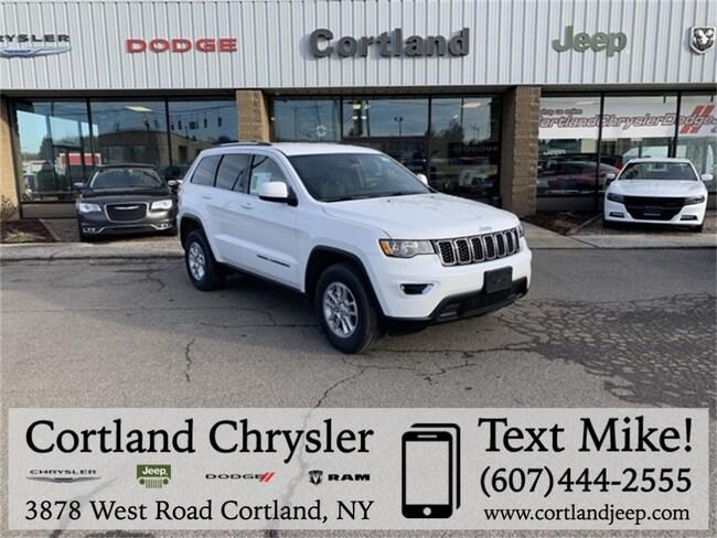 New 2019 Jeep Grand Cherokee LAREDO E 4X4 Sport Utility Cortland, NY