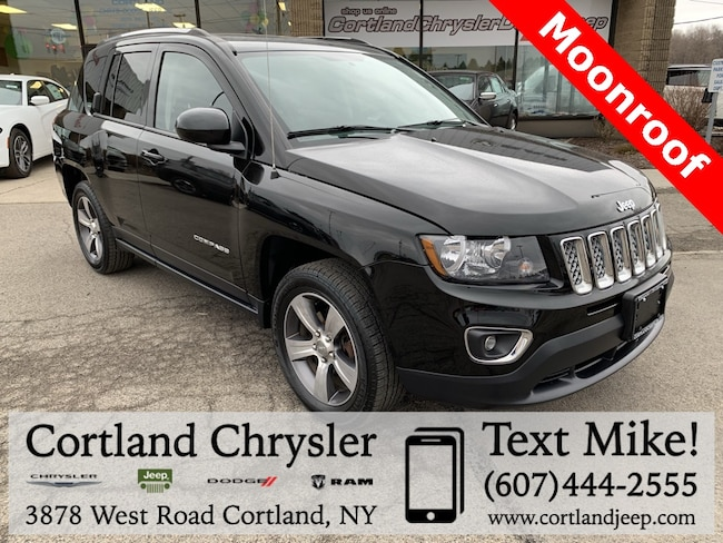 Used 2016 Jeep Compass High Altitude SUV for sale in Cortland, NY