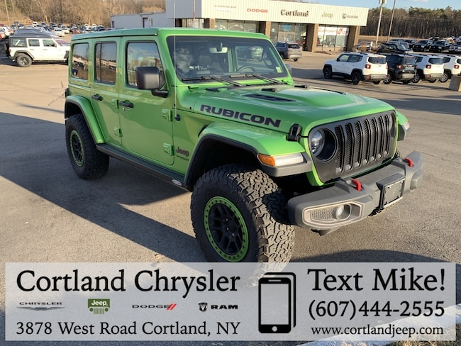 Used 2018 Jeep Wrangler Unlimited Rubicon SUV for sale in Cortland, NY