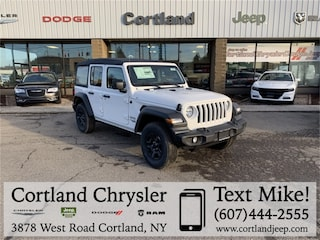 New 2019 Jeep Wrangler UNLIMITED SPORT 4X4 Sport Utility 2192260 for sale in Cortland, NY