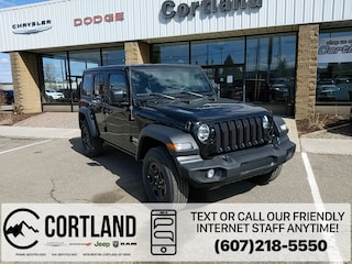New 2020 Jeep Wrangler UNLIMITED SPORT 4X4 Sport Utility for sale in Cortland, NY