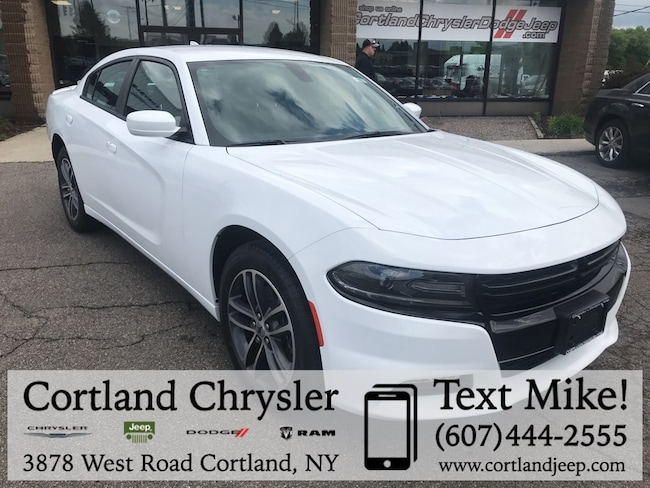 New 2019 Dodge Charger SXT AWD Sedan Cortland, NY