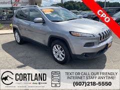 Certified Pre-Owned 2016 Jeep Cherokee Latitude SUV 1C4PJMCS5GW331857 for Sale in Cortland, NY