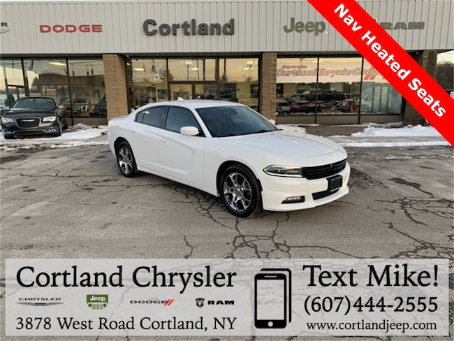 Used 2015 Dodge Charger SXT Sedan for sale in Cortland, NY