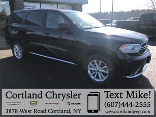 New 2019 Dodge Durango SXT AWD Sport Utility for sale in Cortland, NY