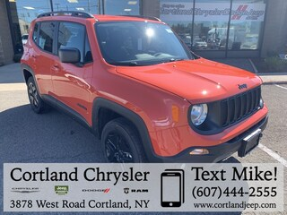 New 2019 Jeep Renegade UPLAND 4X4 Sport Utility for sale in Cortland, NY