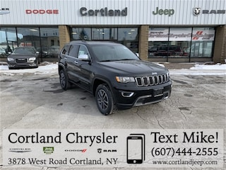 New 2019 Jeep Grand Cherokee LIMITED 4X4 Sport Utility 2192330 for sale in Cortland, NY