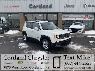 New 2018 Jeep Renegade LATITUDE 4X4 Sport Utility 2185730 for sale in Cortland, NY