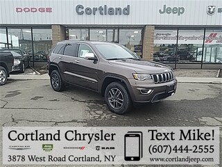 New 2019 Jeep Grand Cherokee LIMITED 4X4 Sport Utility 2192460 for sale in Cortland, NY