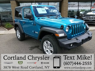 New 2019 Jeep Wrangler SPORT S 4X4 Sport Utility for sale in Cortland, NY