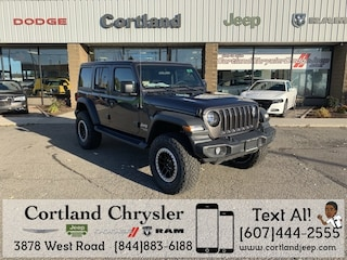 New 2018 Jeep Wrangler UNLIMITED SPORT S 4X4 Sport Utility 2183960 for sale in Cortland, NY
