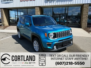 New 2020 Jeep Renegade LATITUDE 4X4 Sport Utility for sale in Cortland, NY