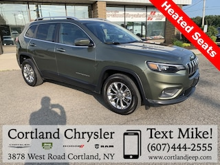 Used 2019 Jeep Cherokee Latitude Plus SUV 2026529 for sale in Cortland, NY