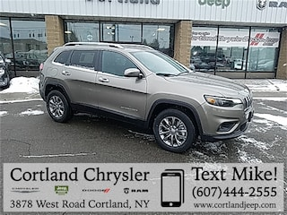 New 2019 Jeep Cherokee LATITUDE PLUS 4X4 Sport Utility 2193100 for sale in Cortland, NY