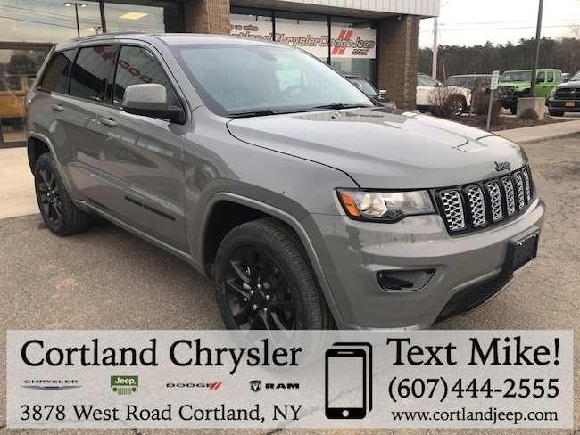 New 2019 Jeep Grand Cherokee ALTITUDE 4X4 Sport Utility Cortland, NY