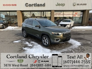 New 2019 Jeep Cherokee LIMITED 4X4 Sport Utility 2191600 for sale in Cortland, NY