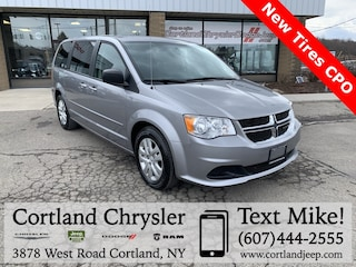 Used 2016 Dodge Grand Caravan SE Minivan/Van 2025679 for sale in Cortland, NY
