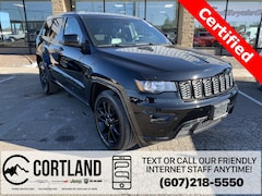 Certified Pre-Owned 2017 Jeep Grand Cherokee Altitude SUV 1C4RJFAGXHC734920 for Sale in Cortland, NY