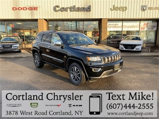 New 2018 Jeep Grand Cherokee LIMITED 4X4 Sport Utility 2185840 for sale in Cortland, NY