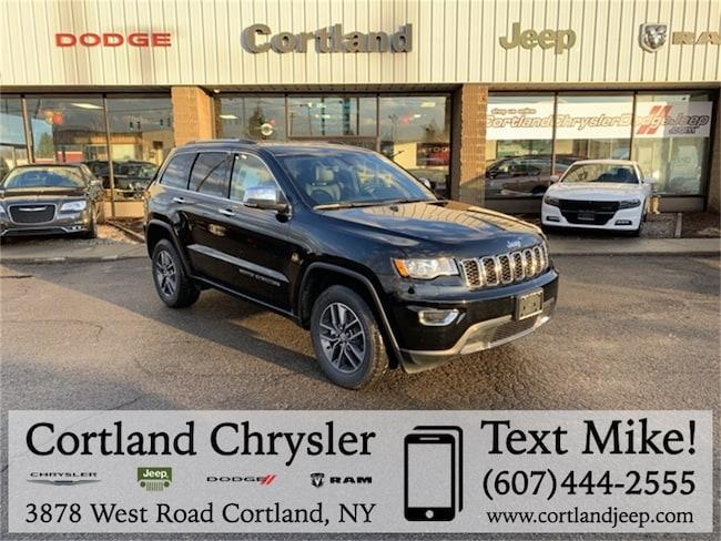 New 2018 Jeep Grand Cherokee LIMITED 4X4 Sport Utility Cortland, NY