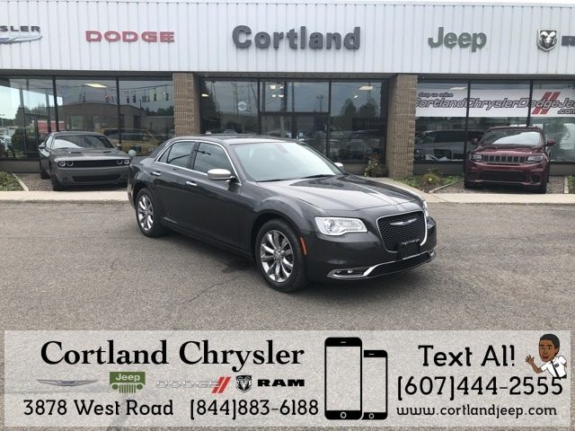New 2018 Chrysler 300 LIMITED AWD Sedan 2184660 For Sale In Cortland, NY