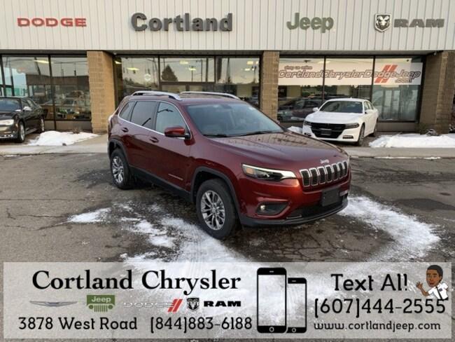 New 2019 Jeep Cherokee LATITUDE PLUS 4X4 Sport Utility Cortland, NY
