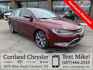 Used 2016 Chrysler 200 C Sedan 2026259 for sale in Cortland, NY