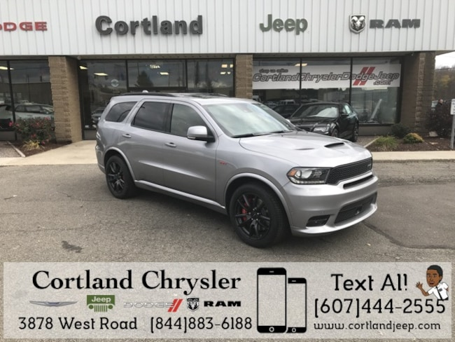 2018 dodge durango srt awd for sale in cortland ny near norwich