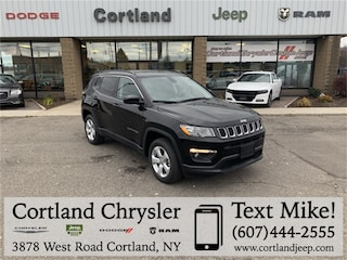 New 2019 Jeep Compass LATITUDE 4X4 Sport Utility 2191070 for sale in Cortland, NY