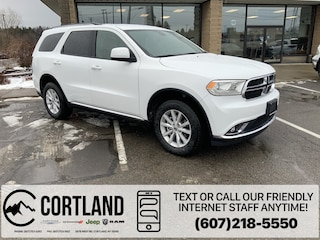 New 2020 Dodge Durango SXT PLUS AWD Sport Utility for sale in Cortland, NY