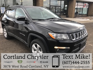 New 2019 Jeep Compass LATITUDE 4X4 Sport Utility 2191960 for sale in Cortland, NY