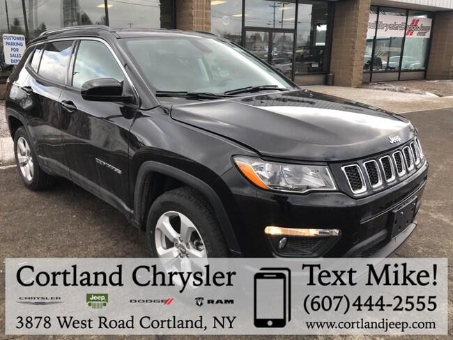 New 2019 Jeep Compass LATITUDE 4X4 Sport Utility Cortland, NY